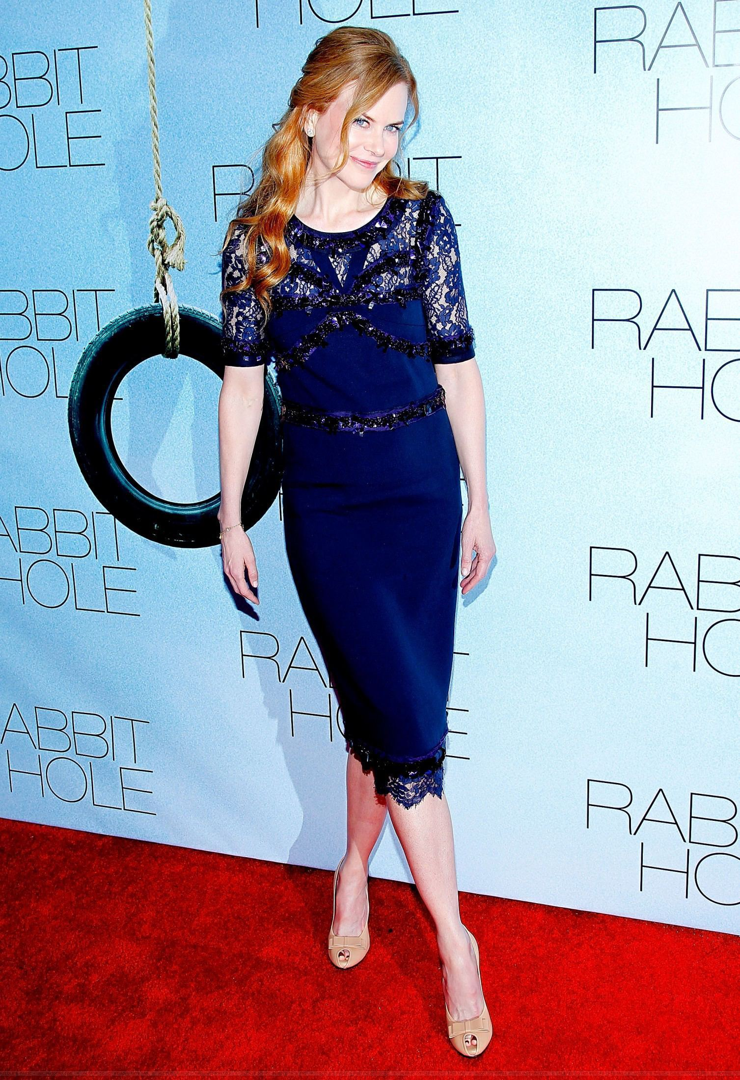 Nicole at the premiere of the Rabbit Hole in New York
