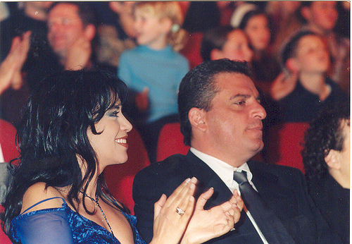 OFRA AND HER HUSBAND(DORON ASHKENAZI) IN 1998