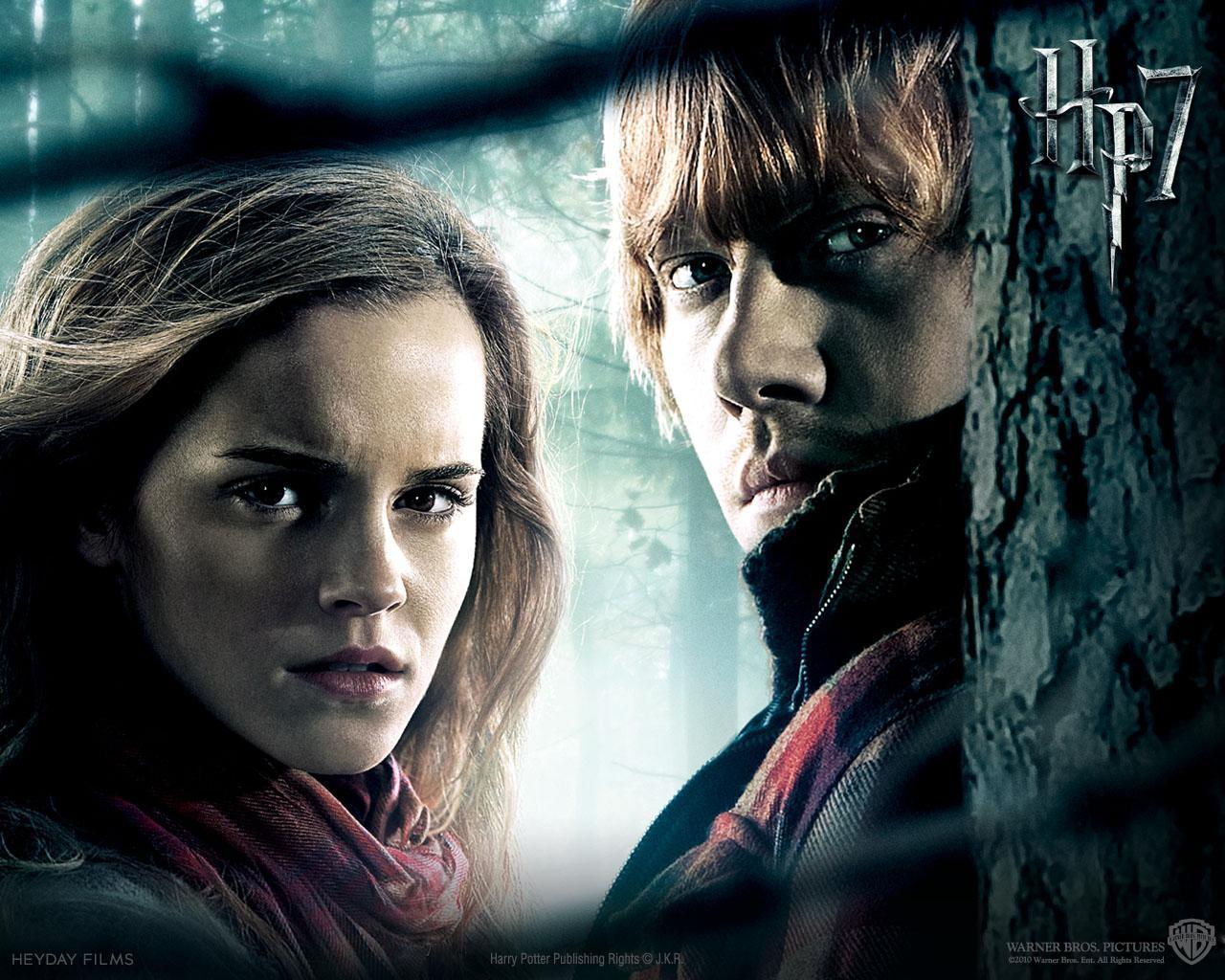 Harry Potter Ron Weasley and Hermione Granger