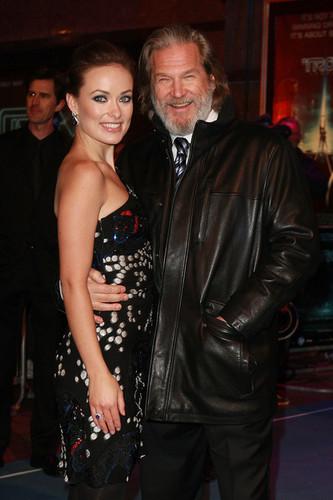 Olivia Wilde & Jeff Bridges @ the London Premiere of 'Tron: Legacy'