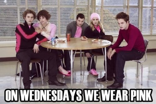 On Wednesdays we wear pink... - critical-analysis-of-twilight Photo