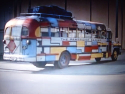 The Partridge Family wallpaper possibly containing a bus entitled PF