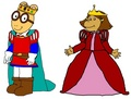 Prince Arthur and Princess Francine