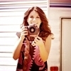 Shenae Grimes Foto possibly with a portrait titled SHENAE