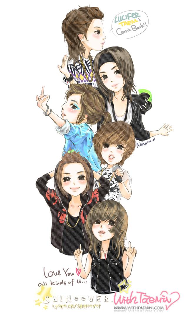 SHINee Fan Art Shinee Fan Art  17473392  Fanpop