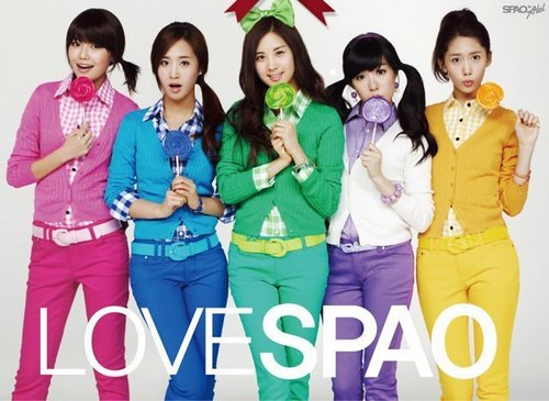 SNSD For Spao