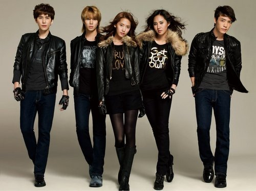 SNSD & Super Junior for Spao