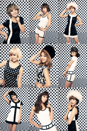 Girls Generation/SNSD wallpaper probably with anime entitled SNSD_Hoot