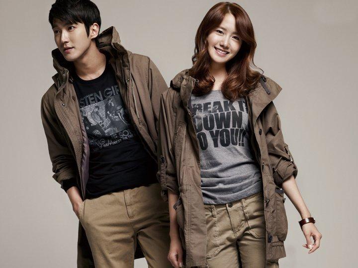 snsd girls generation yoona. Sinwon amp; Yoona for Spao