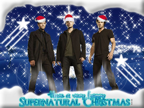 Supernatural Christmas - supernatural Wallpaper
