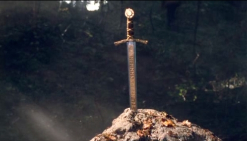 Merlin sword in the stone - photo#4