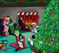 Teen Titans Christmas - funkyrach01 fan art