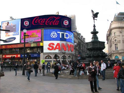 The AD On Piccadilly Circus