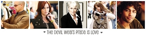 The Devil Wears Prada is amor