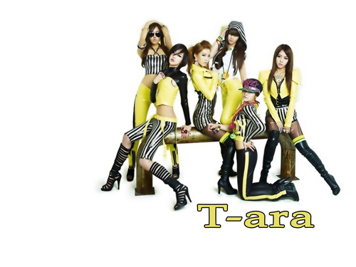 T-ARA (Tiara) 壁紙 titled Tiara-Wallpaper