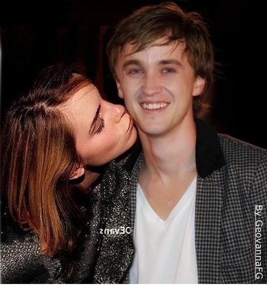 tom felton and emma watson love. tom felton and emma watson