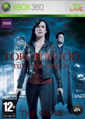 Torchwood Xbox 360 Cover