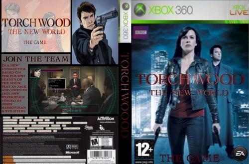 Torchwood Xbox 360 Full Cover