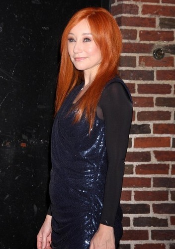 Tori Amos At The 'Late Show With David Letterman'
