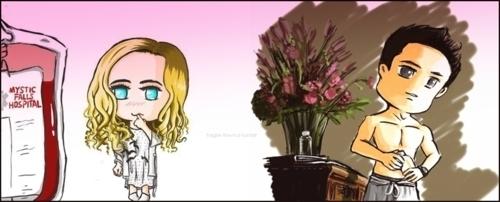 Tyler&Caroline Cartoon =)