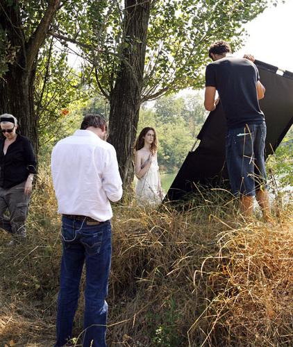 Vogue Italia 사진 Shoot