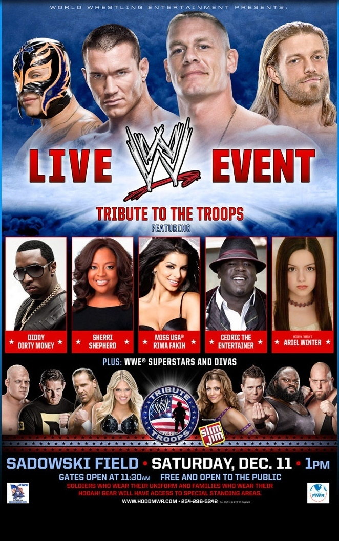 wwe tribute to the troops 2013 full show
