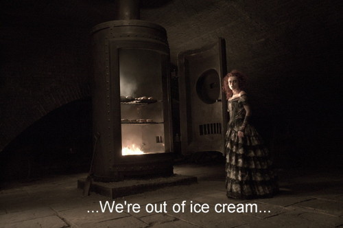 We're out of ice cream
