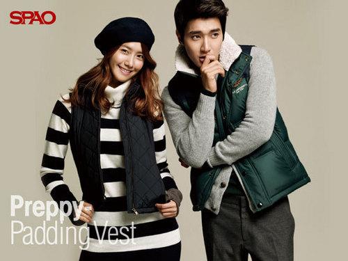 Yoona & Siwon For Spao