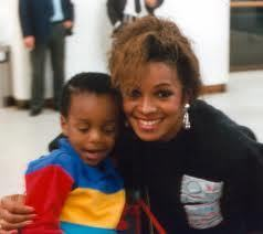 austin with His mom Rebbie