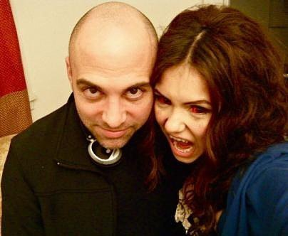behind the scenes - Marcos Siega and Katherine