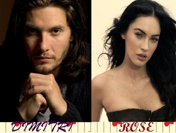 dimitri and rose - Vampire