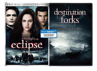 eclipse- Walmart DVD special
