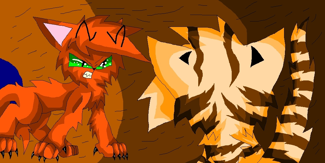 fireheart vs. tigerclaw