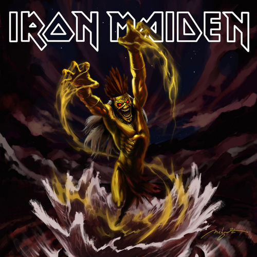 Iron Maiden wallpaper containing anime called iron maiden