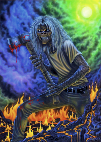 Iron Maiden wolpeyper possibly containing a apoy and anime called iron maiden