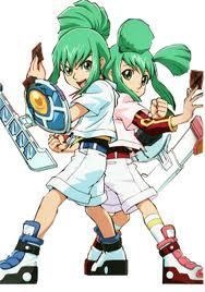 leo and luna with their duel disks