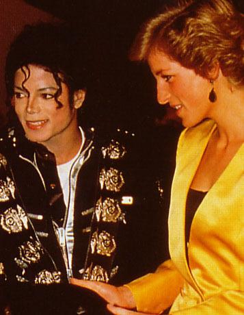 michael meets princess diana