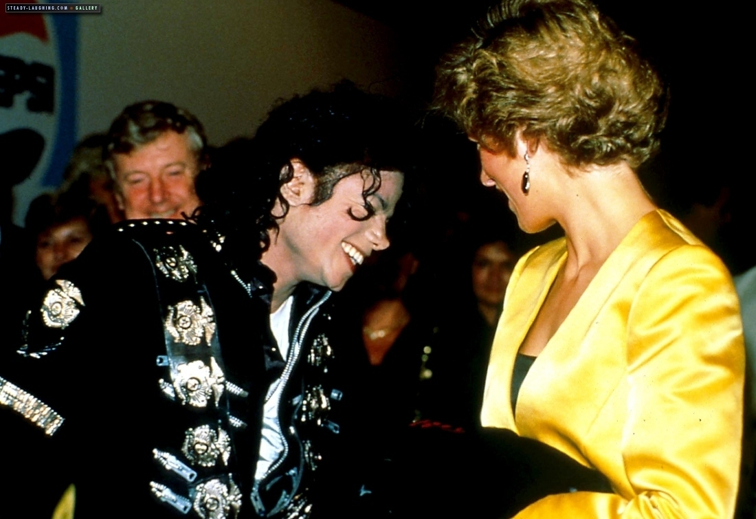 Princess Diana michael meets princess diana