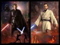 obi-wan kenobi and Anakin skywalker - obi-wan-kenobi-and-anakin-skywalker wallpaper