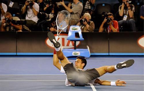 provocative Novak Djokovic
