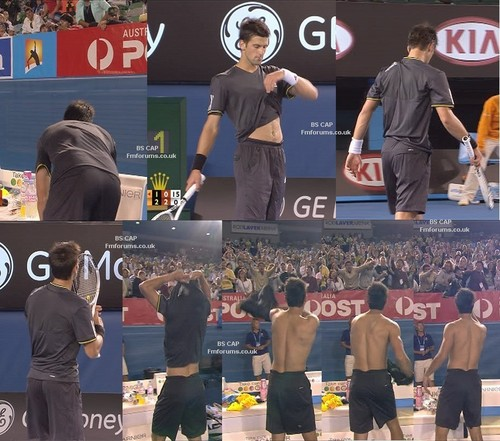 provocative Novak Djokovic
