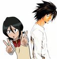 rukia and Lawliet - bleach-rp photo