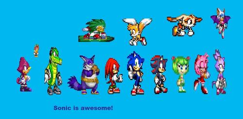 sonic is cool
