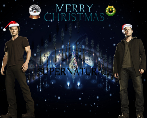 supernatural_Christmas - supernatural Wallpaper