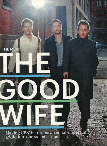 The Good Wife wallpaper containing a business suit called the men