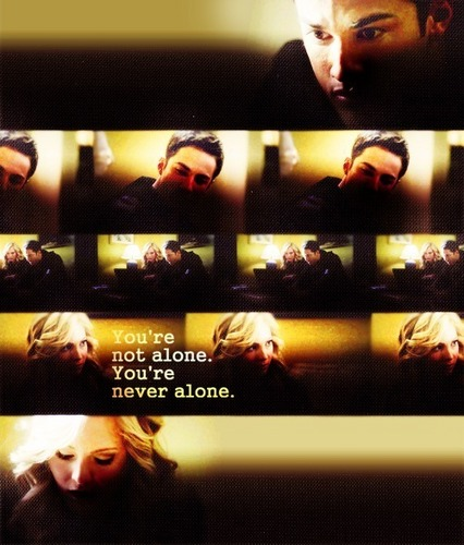 you're not alone, you're never alone.