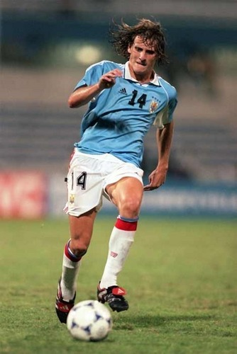 young Diego Forlan