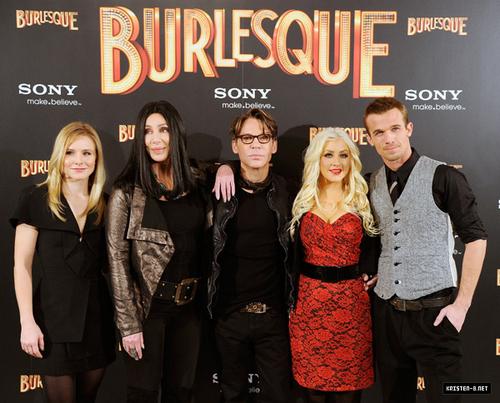 """Burlesque"" Madrid Photocall"