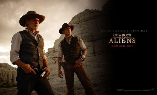 'Cowboys & Aliens' ~ Jake Lonergan & Col. Woodrow Dolarhyde