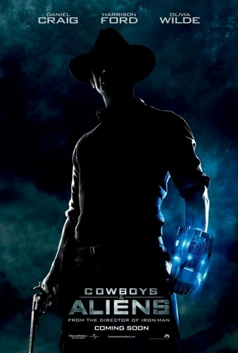 'Cowboys & Aliens' Official Promotional Poster